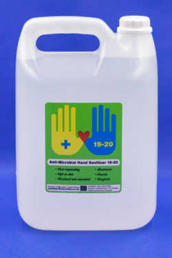 Anti-Microbial Hand Sanitizer (HS19-20)